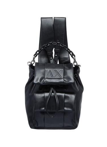 Armani Exchange Sırt Çantası Siyah